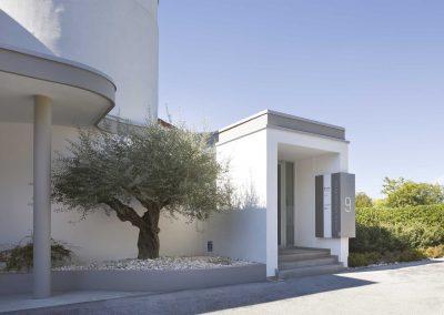 entrata esterna studio dentistico Orange Maron di Brugnera Pordenone