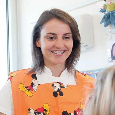 dr.ssa Dejeda Kokici odontoiatra pediatrica studio dentistico Orange