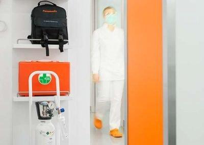 Defibrillatore - studio dentistico Orange Maron di Brugnera Pordenone