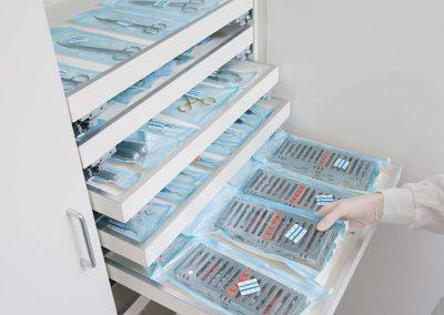 strumenti sterilizzati - studio dentistico Orange Maron di Brugnera Pordenone