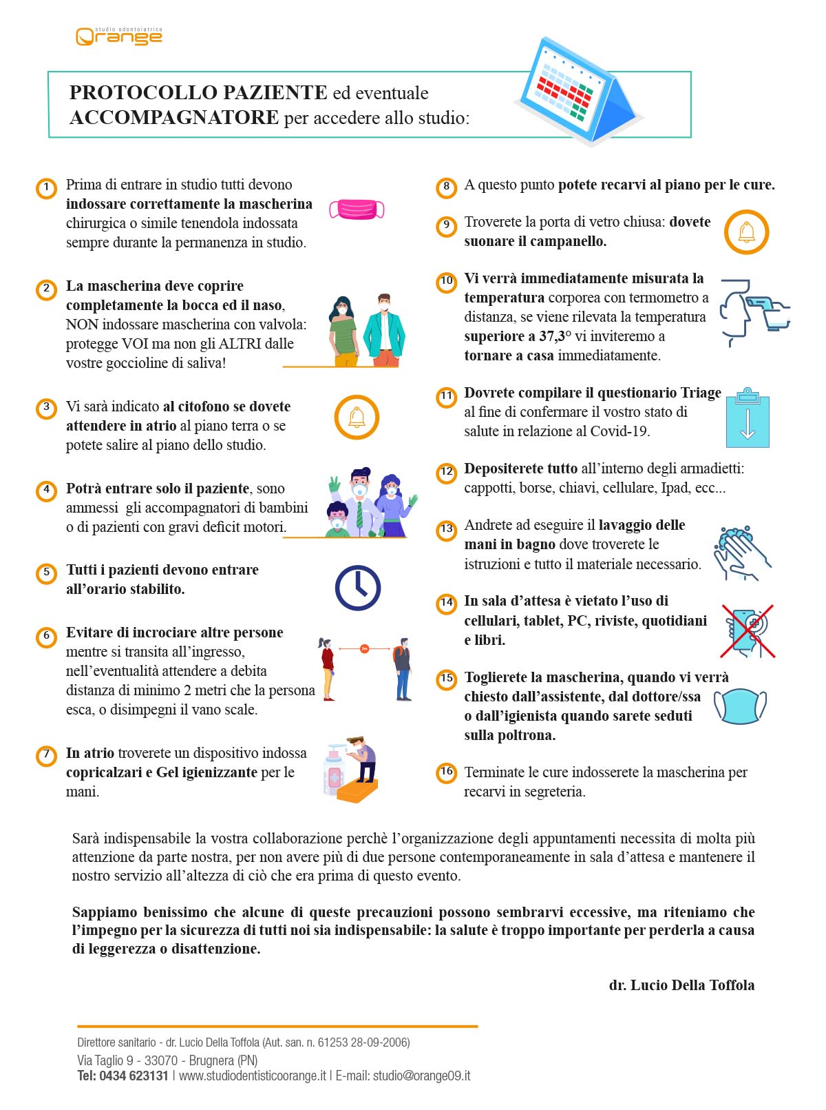 protocollo paziente coronavirus